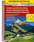 MARCO POLO Reiseatlas Österreich / Liechtenstein / Südtirol / Europa 1 : 200 000