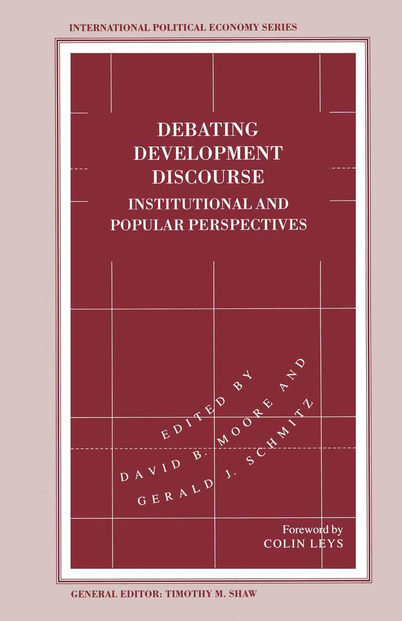 Debating Development Discourse, David B. Moore