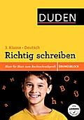 Übungsblock: Deutsch - Richtig schreiben 3. K ...
