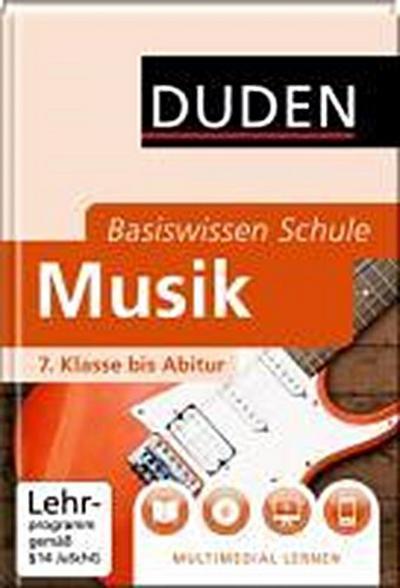 DUDEN Basiswissen Schule– Musik –