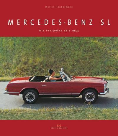 Mercedes-Benz SL: Die Prospekte seit 1954