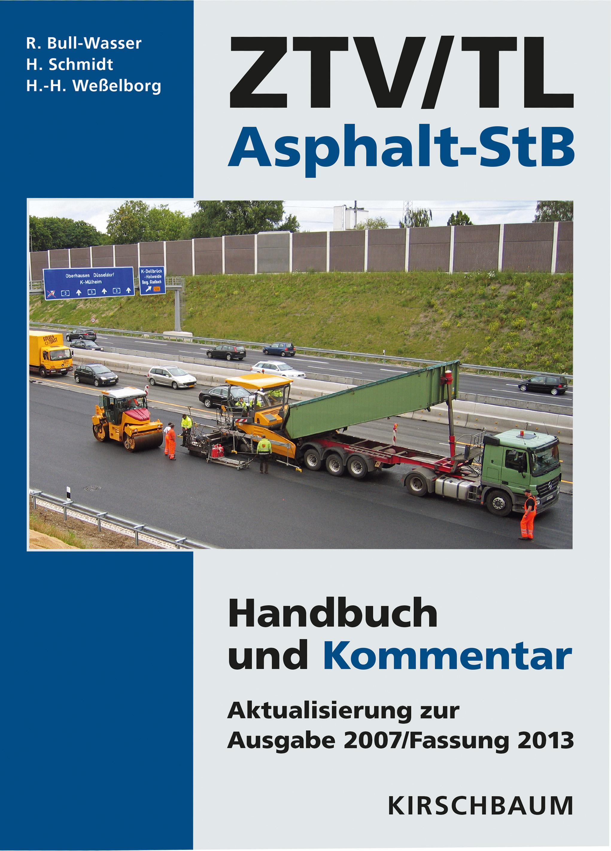 ZTV-TL-Asphalt-StB-Hans-Hermann-Wesselborg-9783781219229