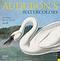 CAL 2018-AUDUBONS WATERCOLORS