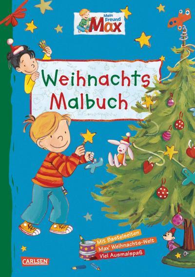 Max Blaue Reihe: Mein Freund Max - Weihnachtsmalbuch