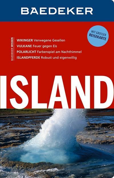 Baedeker Reiseführer Island: mit GROSSER REISEKARTE
