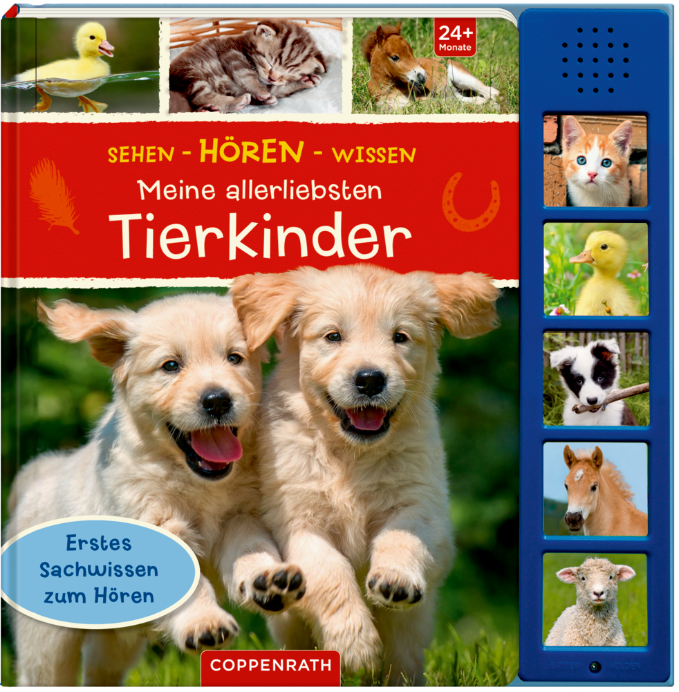 Sehen - Hören - Wissen:Meine allerliebsten Tierkinder