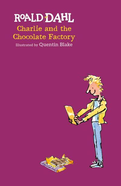 Charlie and the Chocolate Factory - Puffin - Gebundene Ausgabe, Englisch, Roald Dahl, ,