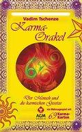 Karma Orakel: Set mit Buch und Karten/Der Men ...