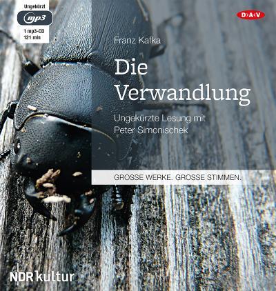 Die Verwandlung: Ungekürzte Lesung mit Peter Simonischek (1 mp3-CD)