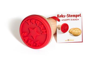 """WWS Keks-Stempel Happy X-Mas"""""""""""