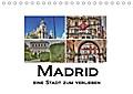 9783665915513 - k. A. M. Polok: Madrid eine Stadt zum Verlieben (Tischkalender 2018 DIN A5 quer) - Die schönste Stadt Spaniens. (Monatskalender, 14 Seiten ) - Книга