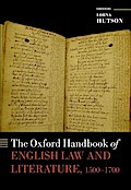 OXFORD HANDBK OF ENGLISH LAW &