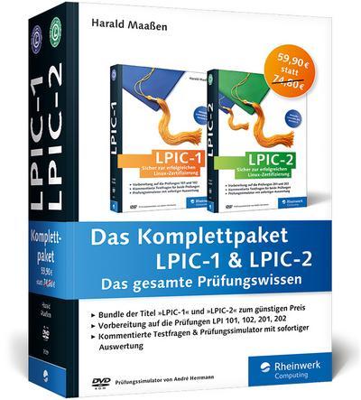 Das Komplettpaket LPIC-1 & LPIC-2: Das gesamte Prüfungswissen
