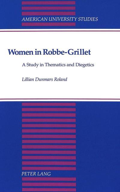 Women in Robbe-Grillet
