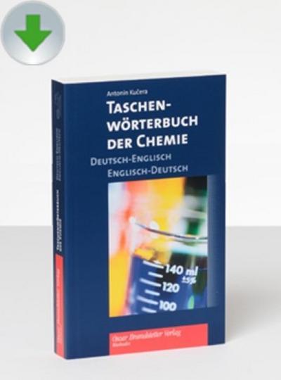 Taschenwörterbuch der Chemie Deutsch-Englisch / Englisch-Deutsch, CD-ROMPocket Dictionary of Chemistry German-English/English-German - Brandstetter - CD-ROM, Deutsch| Englisch, Antonin Kucera, Pocket Dictionary of Chemistry German-English/English-German, Pocket Dictionary of Chemistry German-English/English-German