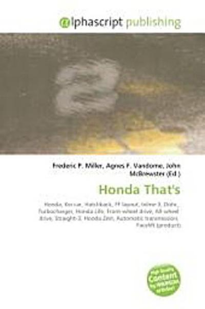Honda That`s
