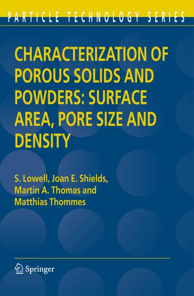 characterization-of-porous-solids-and-powders-surface-area-pore-size-and-density-particle-technol