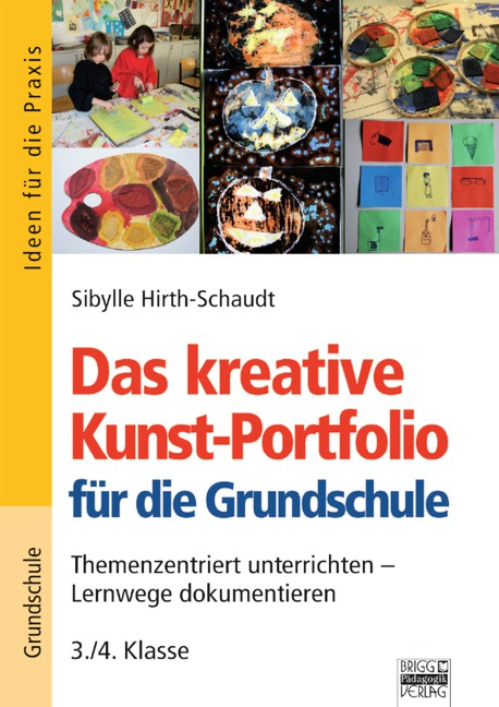 Das kreative Kunst-Portfoli