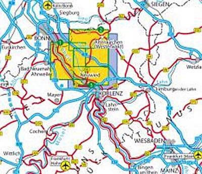 Naturpark Rhein-Westerwald: Asbach, Bad Hönningen, Dierdorf, Flammersfeld, Linz am Rhein, Neuwied, Puderbach, Rengsdorf, Unkel, Waldbreitbach