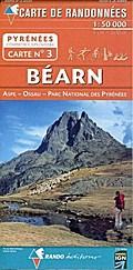 Carte de randonnées Pyrénées - Béarn