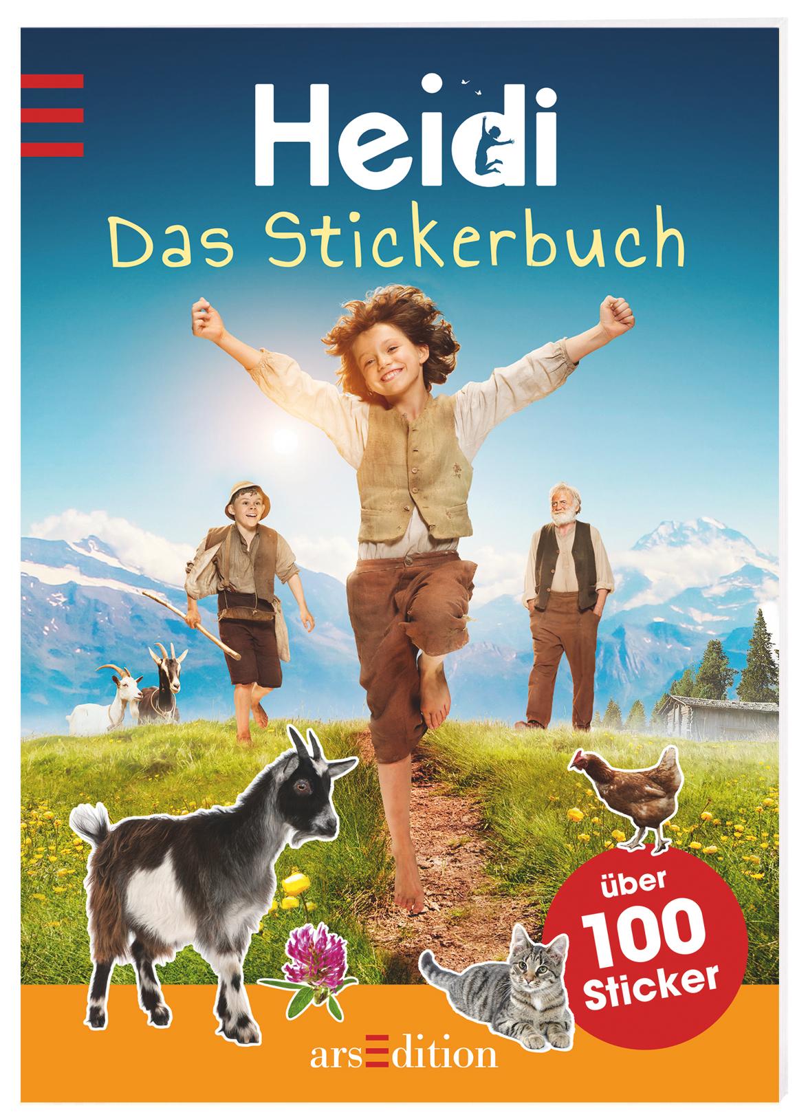 Heidi-Das-Stickerbuch