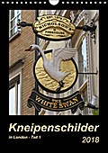9783665731960 - Angelika Keller: Kneipenschilder in London - Teil 1 (Wandkalender 2018 DIN A4 hoch) - Die AUSHÄNGE-Schilder der Londoner Pubs (Monatskalender, 14 Seiten ) - 書