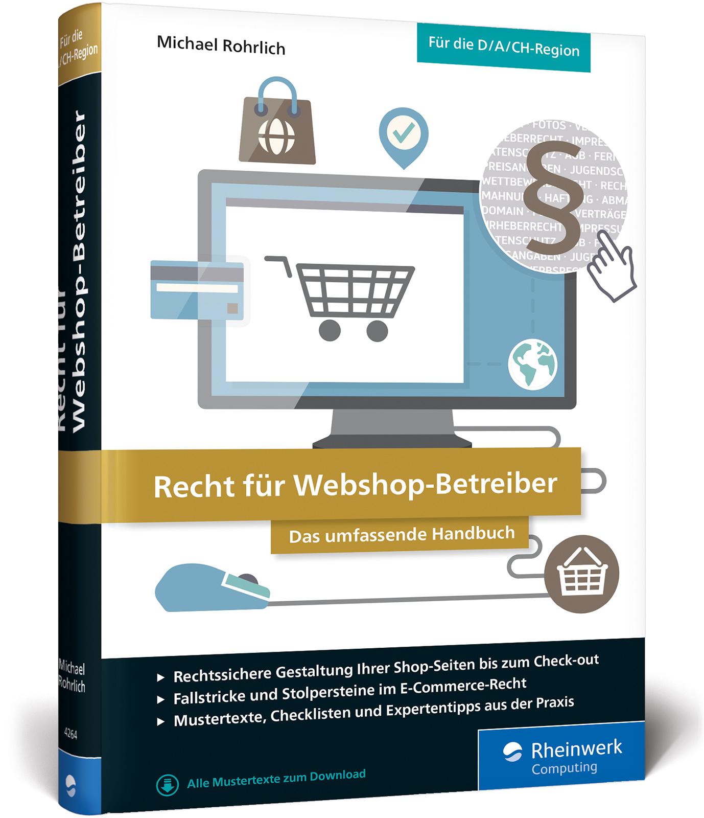 NEU Recht für Webshop-Betreiber Michael Rohrlich 242646