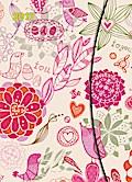 Flower Fantasy 2017 Magneto Diary 16x22