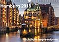 9783665915728 - Thomas Seethaler: Hamburg - Nächtliche Impressionen (Wandkalender 2018 DIN A4 quer) - Hamburg - die Perle des Nordens (Monatskalender, 14 Seiten ) - كتاب