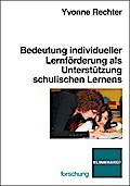 Bedeutung individueller Lernförderung als Unt ...