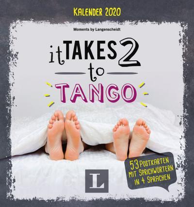 LG Kalender 2020 It takes two to Tango