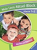 Mein Lern-Rätsel-Block Klasse 1 + 2; Mathe un ...