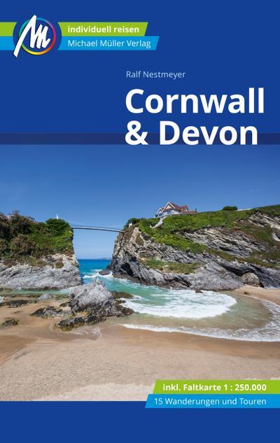 Cornwall & Devon Reiseführer Michael Müller Verlag  Individuell reisen mit vielen praktischen Tipps  Deutsch  135 farb. Fotos