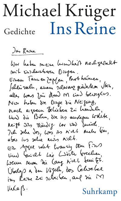 Ins Reine: Gedichte