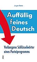 Auffällig feines Deutsch