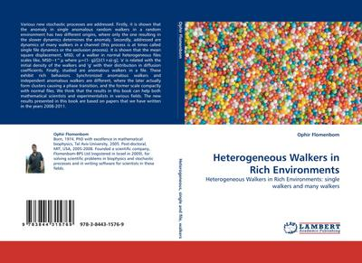 Heterogeneous Walkers in Rich Environments