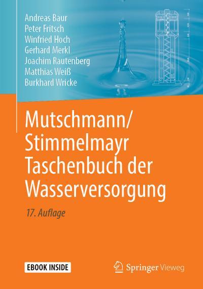 mutschmann-stimmelmayr-taschenbuch-der-wasserversorgung, 81.60 EUR @ regalfrei-de
