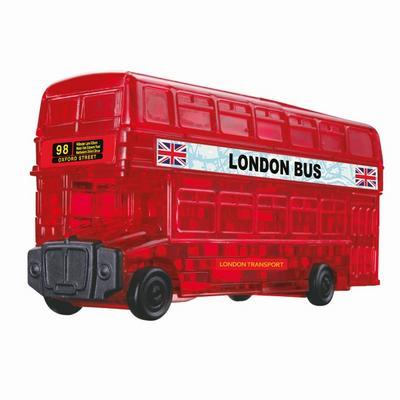 hcm-kinzel-59156-crystal-puzzle-london-bus-53-teile-bunt
