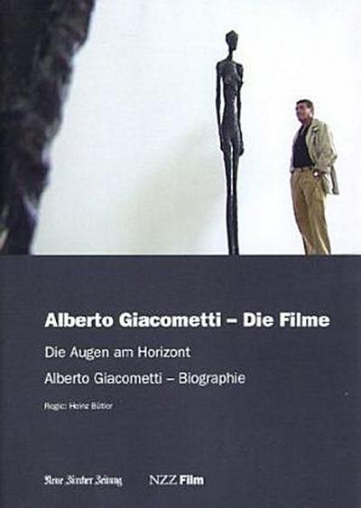Alberto Giacometti: Die Filme - NZZ Film - NZZ Film - DVD, Deutsch  Englisch  Französisch, Heinz Bütler, Die Augen am Horizont. Alberto Giacometti, Biographie. Schweiz, Die Augen am Horizont. Alberto Giacometti, Biographie. Schweiz