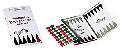 Magnetic Travel Game Backgammon (multilingual) - Carletto Deutschland Gmbh - Spielzeug, Deutsch  Englisch  Französisch  Italienisch, , ,