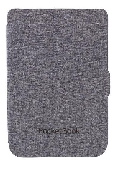 PocketBook Shell Light Grey Black - Passend für Basic 3, Basic Lux, Basic Touch 2, Touch Lux 3 - Pocketbook - Elektronik, Deutsch, , ,