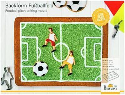 Birkmann 214224 Fußballfeld Motivbackform, 22 x 30 x 4,5 cm - Birkmann - Haushaltswaren, Deutsch, , ,