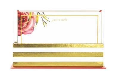 Flat Notes: Coral Floral  Briefkarten mit Kuverts für vielfältige Anlässe: Korall-geblümt: 50 ansprechende Karten mit den passenden Umschlägen - Brown Trout - Bürobedarf & Schreibwaren, Deutsch  Englisch, Graphique de France, 50 ansprechende Karten mit den passenden Umschlägen, 50 ansprechende Karten mit den passenden Umschlägen