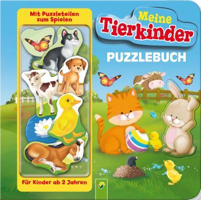 puzzlebuch-meine-tierkinder-mit-10-puzzleteilen-zum-spielen