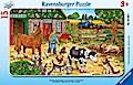 Glückliches Bauernhofleben (Rahmenpuzzle)