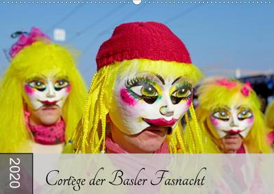 Cortège der Basler Fasnacht (Wandkalender 2020 DIN A2 quer)