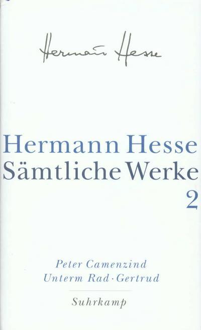 Sämtliche Werke, 20 Bde., Bd.2