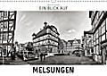 9783665915766 - Markus W. Lambrecht: Ein Blick auf Melsungen (Wandkalender 2018 DIN A3 quer) - Ein ungewohnter Blick in harten Schwarz-Weiß-Bildern auf Melsungen (Monatskalender, 14 Seiten ) - Livre
