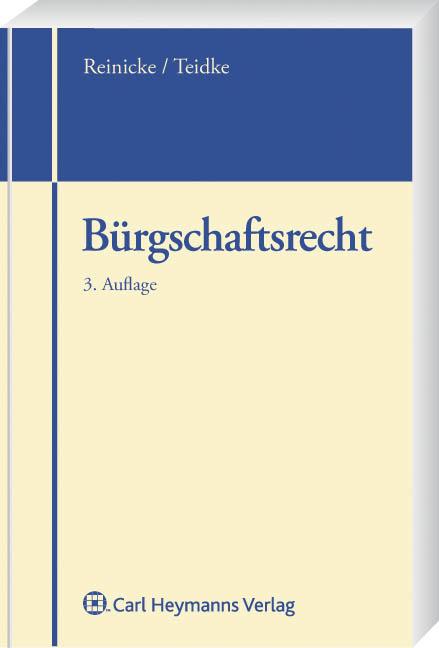 Buergschaftsrecht-Dietrich-Reinicke