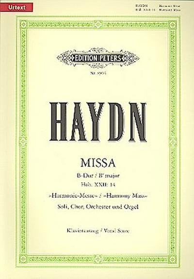 missa-b-dur-hob-xxii-14-harmonie-messe-urtext-fur-4-solostimmen-chor-orchester-und-orgel-kl